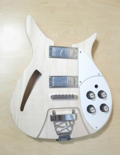 Semi-Hollow Body,NO-SOLDERING Electric Guitar DIY Kit,Set-Neck. GK HSRC 1910