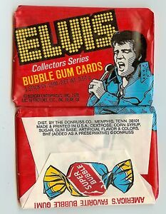 1978 Donruss Elvis single Wax Pack