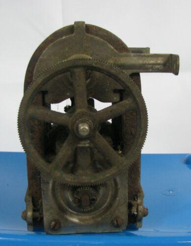 Antique 5 Bar Magneto Hand Crank Telephone Generator Vintage Pat Date 7-17-1894
