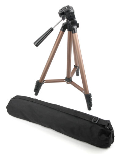 Tripod With Extendable Legs For Canon Eos 1300d (Rebel T6) Beginner Dslr Camera
