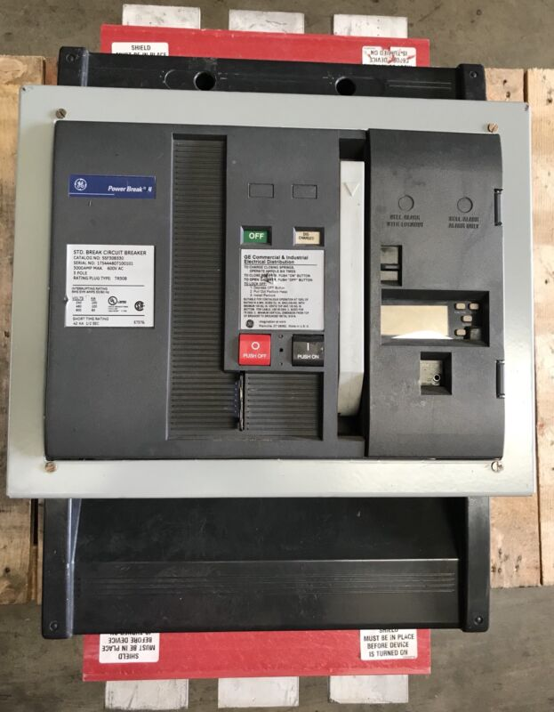 Ssf30b330 Ge Pbii 3000 Amp Lsig Mo Bolt In Ships 24/7 1 Yr Wty Reconditioned