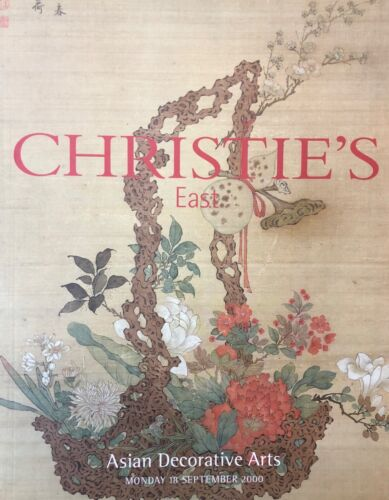 CHRISTIES EAST ASIAN DECORATIVE ARTS MONDAY 18 SEPTEMBER 2000