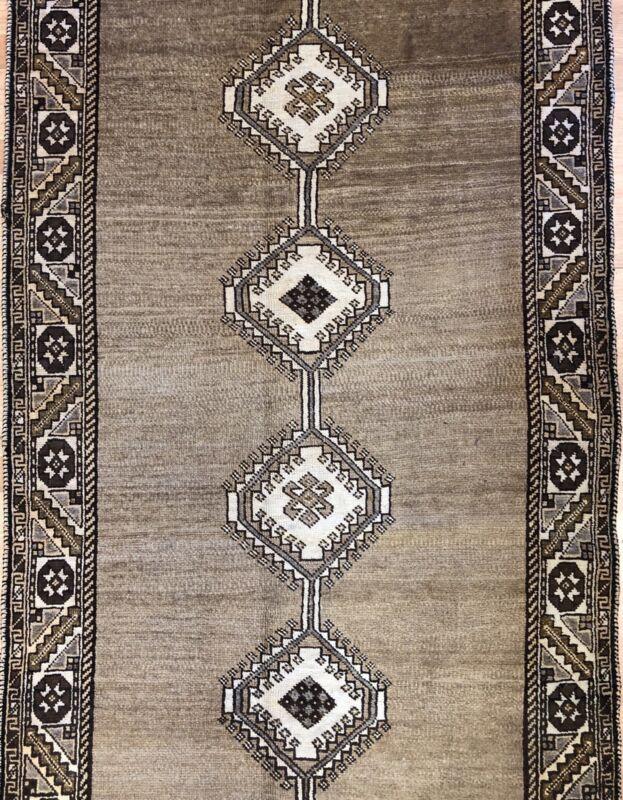 Tremendous Tribal - 1920s Antique Oriental Rug - Nomadic Carpet - 3.8 X 6.6 Ft.