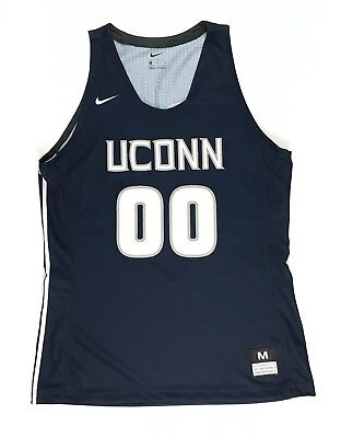 New Nike UConn Huskies Hyperelite Dri-Fit Jersey Women's M Tackle Twill #00 $85 for sale  Bourbonnais
