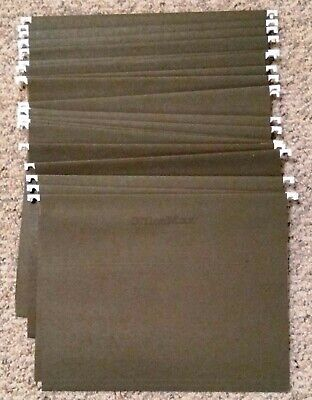 25 Office Max Letter Size Hanging File Folders