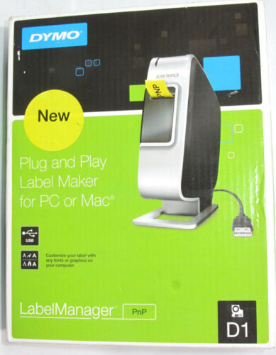 Dymo LabelManager PNP, Label maker for Windows and Mac