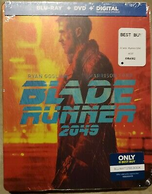 BLADE RUNNER 2049 Best Buy Steelbook Blu-Ray/DVD/Digital US Exclusive