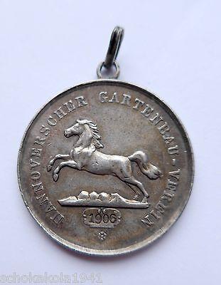 Hannover Silber Medaille 1906 --Verdienst im Gartenbau--