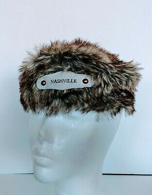 Bloom Brothers Nashville Coonskin Coon Skin Hat Cap Youth Child Size