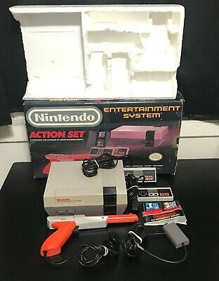 Nintendo Entertainment System Action Pack Set No game No power cord worn box