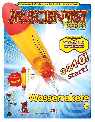 NEU DIY Wasserrakete mit Handbuch Experimente +14 Jahren