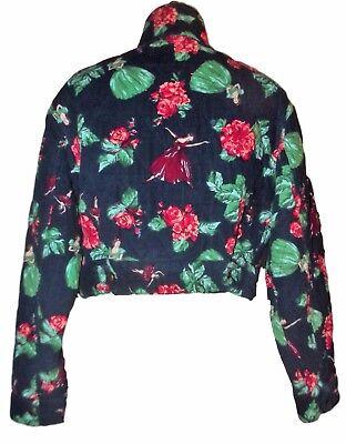 Kenzo veste couture  collector hiver  danseuses ballerines velours tm ou 38