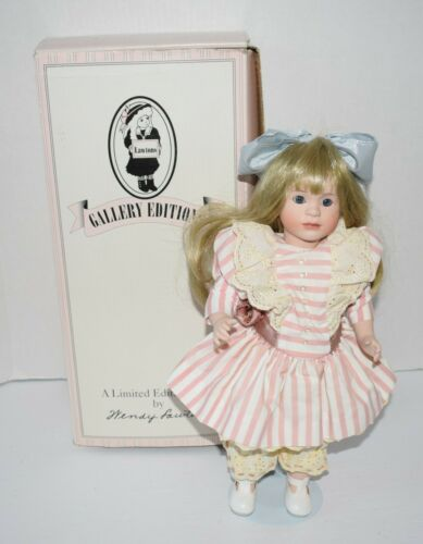 "Wendy Lawton The Changing Seasons 14"" Porcelain Doll Storybook Collection RARE"