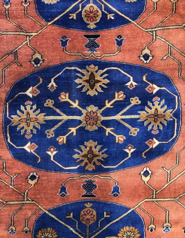Handsome Hungarian - 1900s Antique Khotan Rug - Tribal Carpet - 8 X 10 Ft