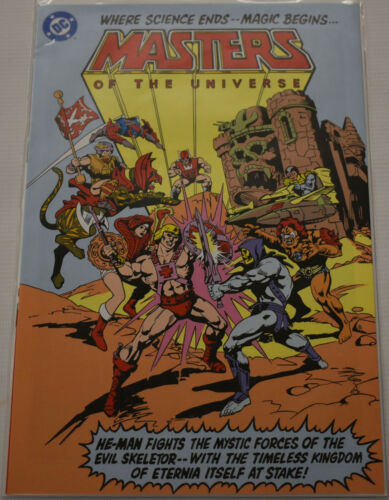 Masters of the Universe 2009 Reprint Preview comic