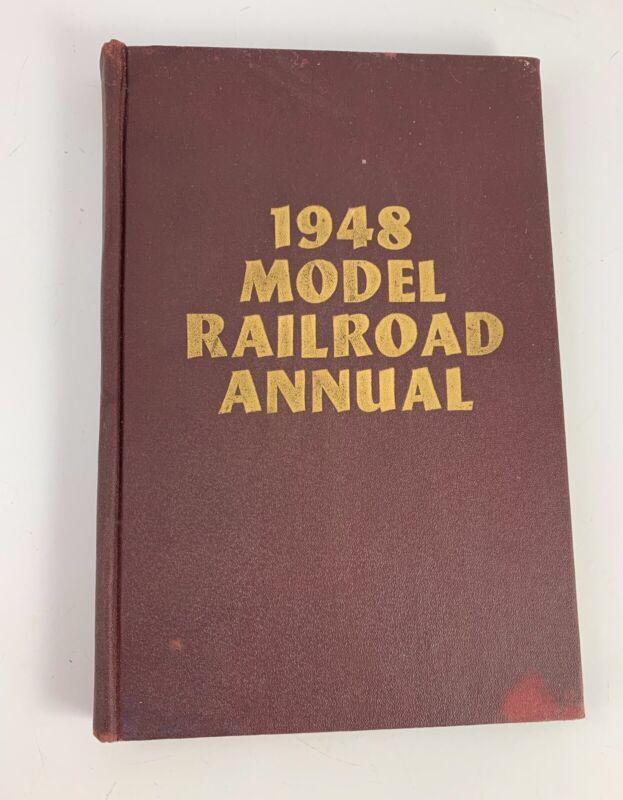 NICE VINTAGE 1948 MODEL RAILROAD MANUAL/BOOK