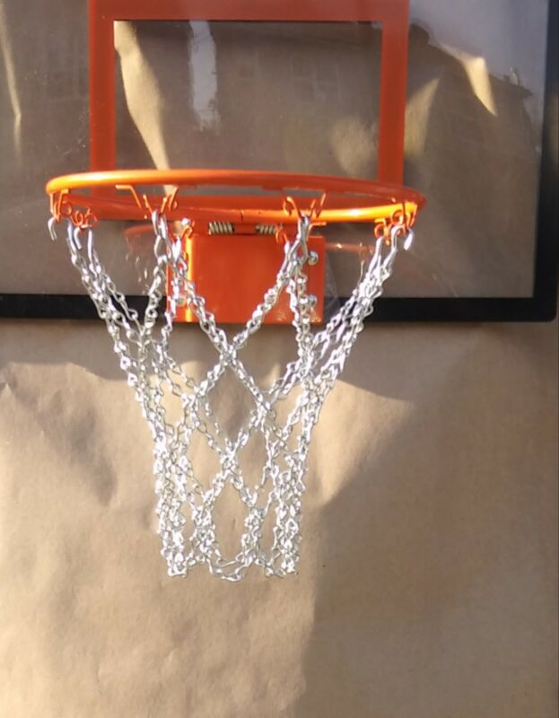 """basketball chain net 8 loop mini net replacement for 6""""-9"""" rims"""