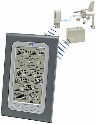 Ws 1510Twc La Crosse Technology Professional Weather Station Wind Rain Weather