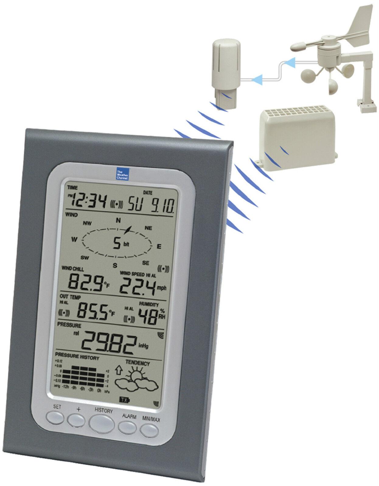 WS-1510TWC La Crosse Technology Professional Weather Station Wind Rain CLOSEOUT