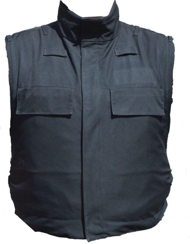 Meggitt Black Overt Body Armour Bullet Proof Stab Vest For Security Grade A