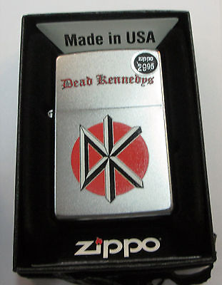 DEAD KENNEDYS ZIPPO LIGHTER AUTHENTIC 2013 LICENSED ROCK N ROLL