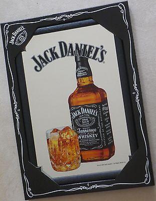 Jack Daniel's Whiskey Spiegel Mirror Reklame 22x32cm Whisky Jacky Reklame