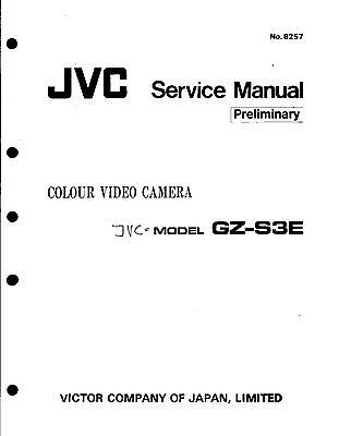 JVC Original Service Manual für GZ-S 3E