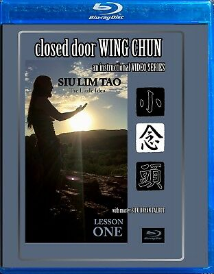 Closed Door Wing Chun - Blu Ray DVD - Siu Lim Tao Form - Highly Informative
