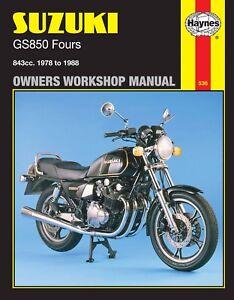suzuki gs850 manual ebay rh ebay com 1980 suzuki gs850 repair manual 1980 suzuki gs850 repair manual