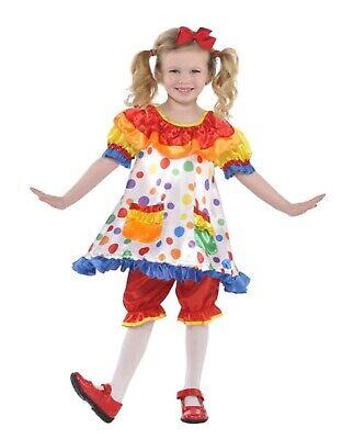 Child Clown Dress Costume Small 4-6](Clown Dress)