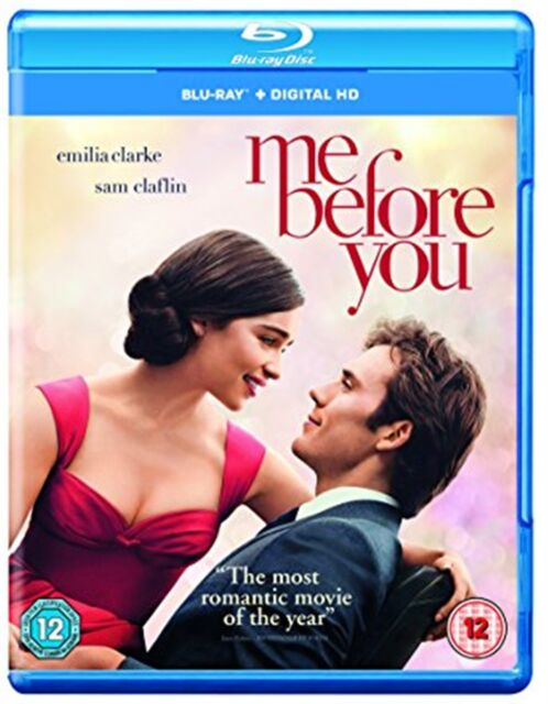 Me Before You (2016) Sam Claflin, Emilia Clarke BRAND NEW UK REGION - B BLURAY