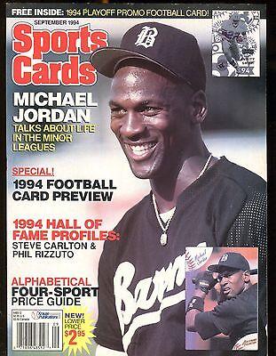 timeless design d6c0f 1dadd Sports Cards Magazine September 1994 Michael Jordan w Card jhscd5