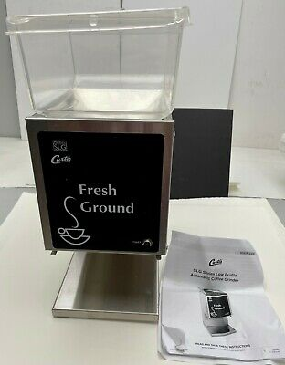 Wilbur Curtis Slg-10 Coffee Bean Ground Grinder Hopper Slg10 120v 960w