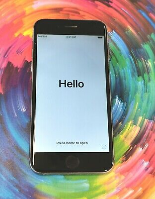 Apple iPhone 6 16GB Unlocked Space Grey Good Condition