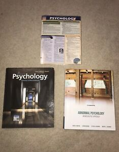 Into to Psych & Abnormal Psych Textbooks