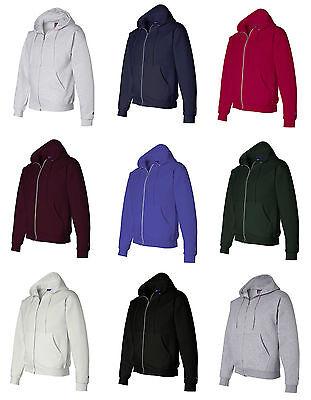 Hanes Men's Size S-XL, 2XL, 3XL, p180, XXL, XXXL, Full Zip-U