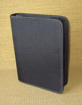 Classic Franklin Covey New Black Durable Nylon 1.5 Rings Plannerbinder