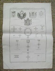 Stemmi-e-Medaglie-Parma-Modena-Lucca-Zuccagni-Orlandini-De-Vegni-Incisione-1845