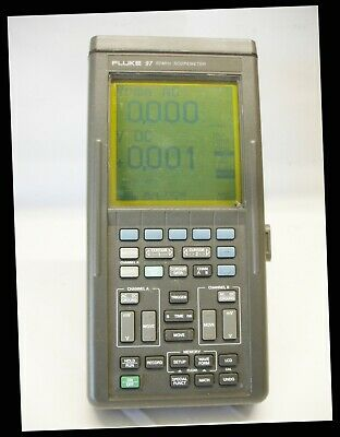 Fluke 97 50mhz Scopemeter 2 Channel Handheld Digital Oscilloscope Multimeter