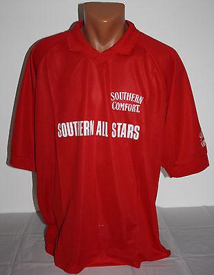 Southern Comfort Herren Poloshirt rot Sport und Freizeit Gr. XL