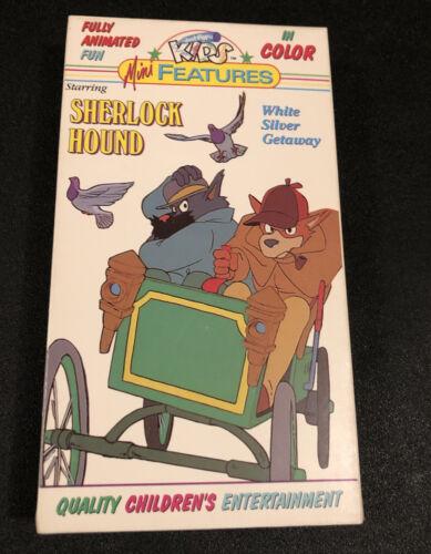 Sherlock Hound - White Silver Getaway VHS, 1991  - $5.99