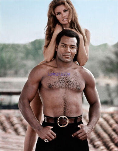 100 RIFLES RAQUEL WELCH JIM BROWN SUPER SEXY PROMOTIONAL PHOTO