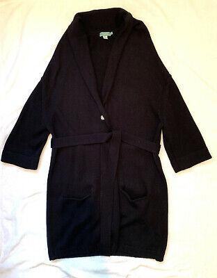 HOSS INTROPIA Long Black Cardigan. Size XS. Low Price.