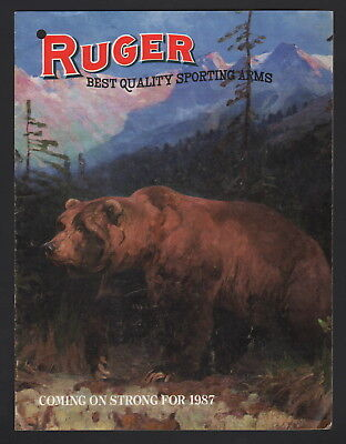 Ruger Best Quality Sporting Arms Catalog - 1987