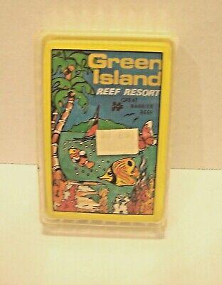 Green Island Resort (Rare Vintage GREEN ISLAND REEF RESORT  Playing Cards AUSTRALIA)