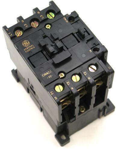 GE CR4CJ Contactor 120V 240V 480V 600V 208V 24V AC Coils  48V 125V 250V DC Coils