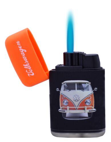 Volkswagen Camper Design Powerful Gas Electronic Lighter Refillable ORANGE