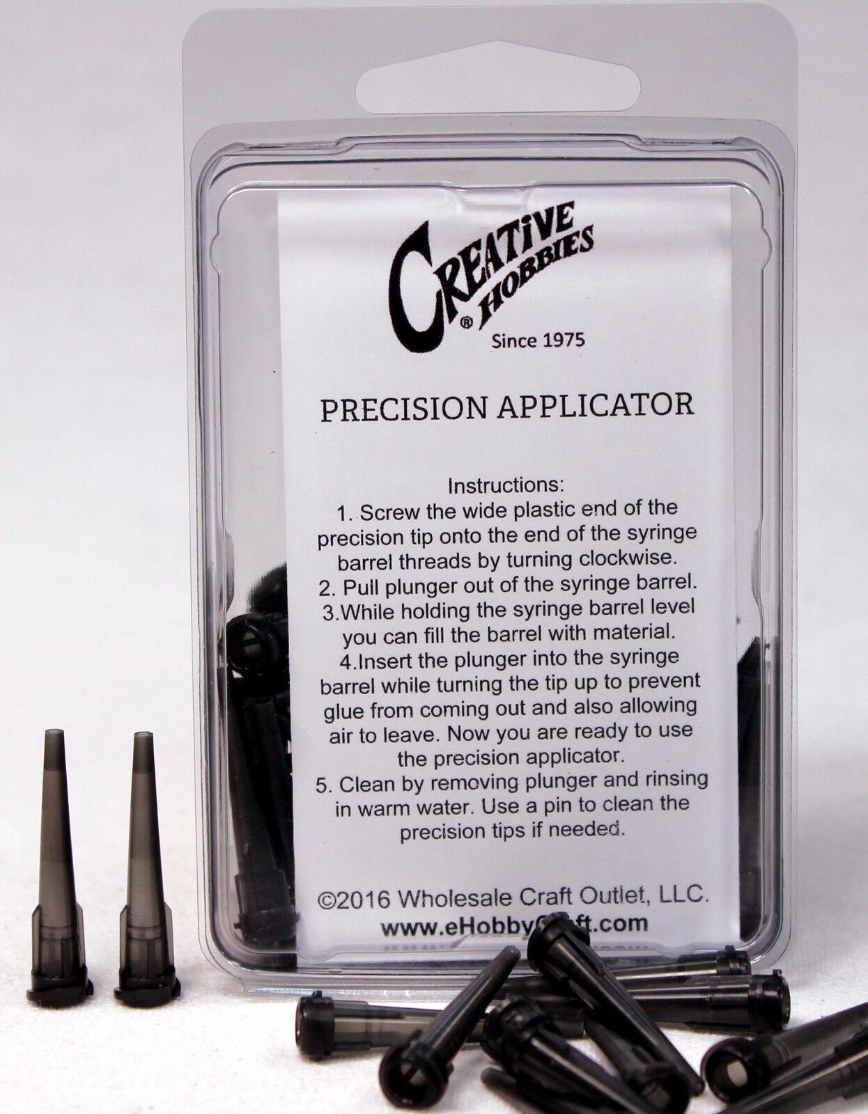 Precision Applicator Dispensing Needle Tips, 16 Gauge 1.25 Inch, 50 Pieces Adhesive Guns & Dispensers