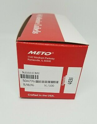 Meto Labels To Suit 5.16 Pricing Gun Box White Labels 16500 Ink Roller