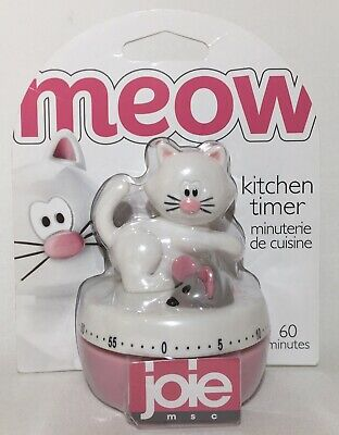 Joie Meow Cat & Mouse Kitchen Timer